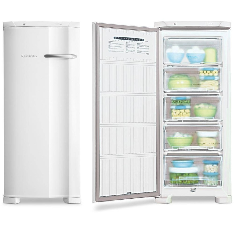 Freezer Electrolux Vertical Cycle Defrost Branco 145L FE18