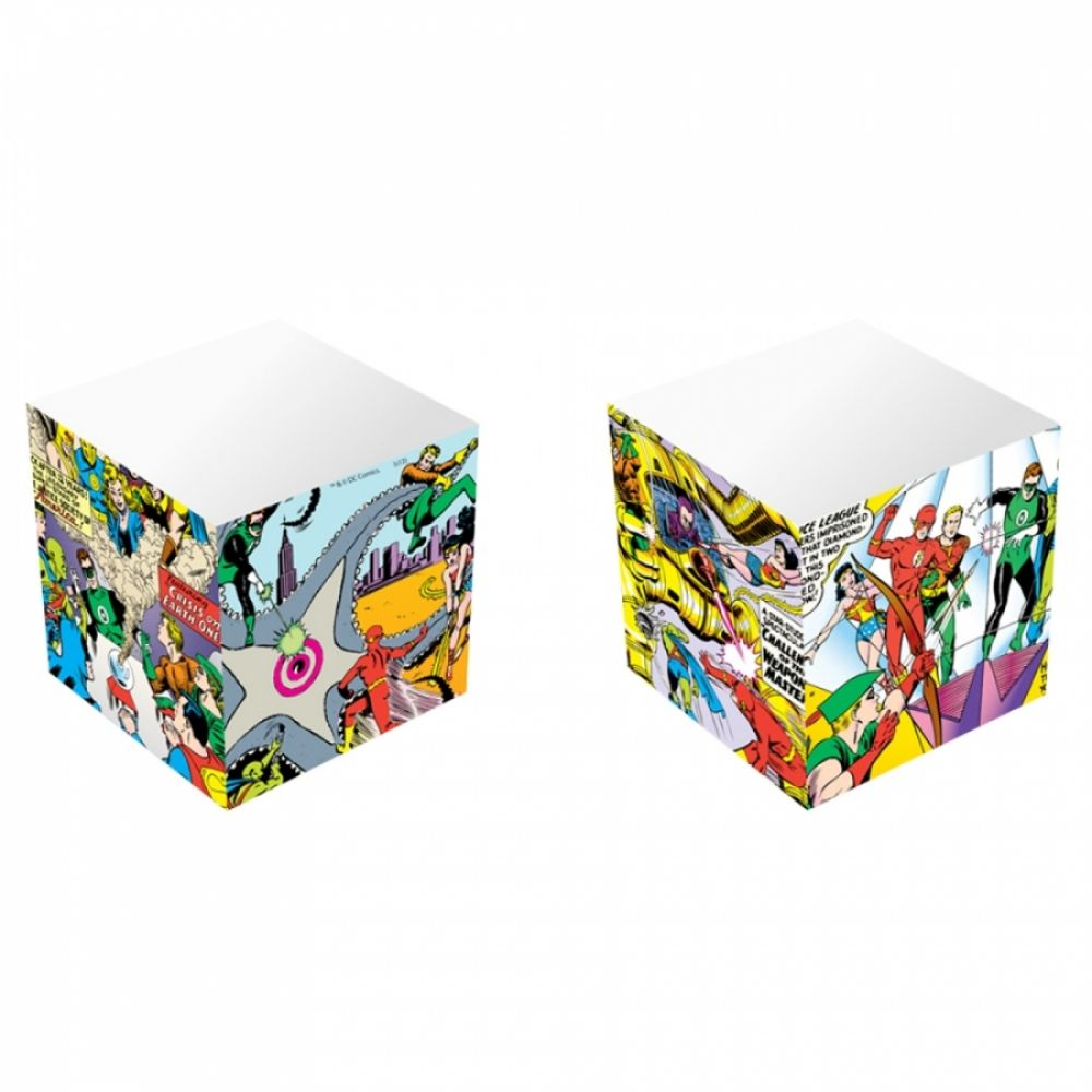 Bloco de Anotações Cubo Dc Justice League Big Fight - Artgeek